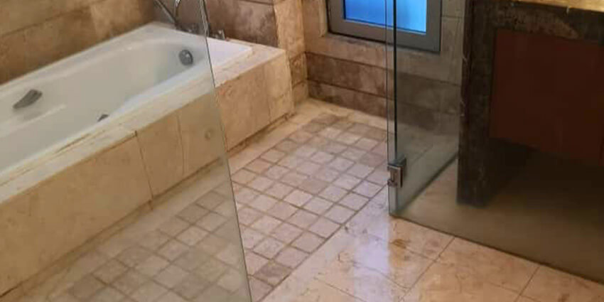 Bathroom After Nano-G's Waterproofing Services