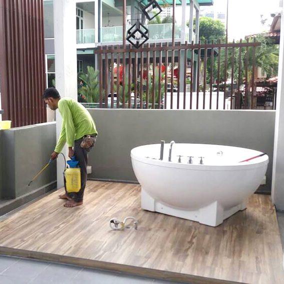 Nano-G Waterproofing Taman Cheras Hartamas