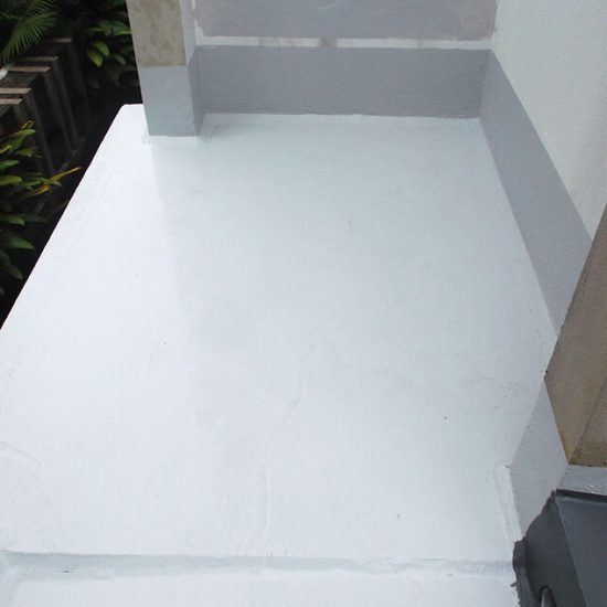 Condition Of Rooftop After Nano-G's Waterproofing Services