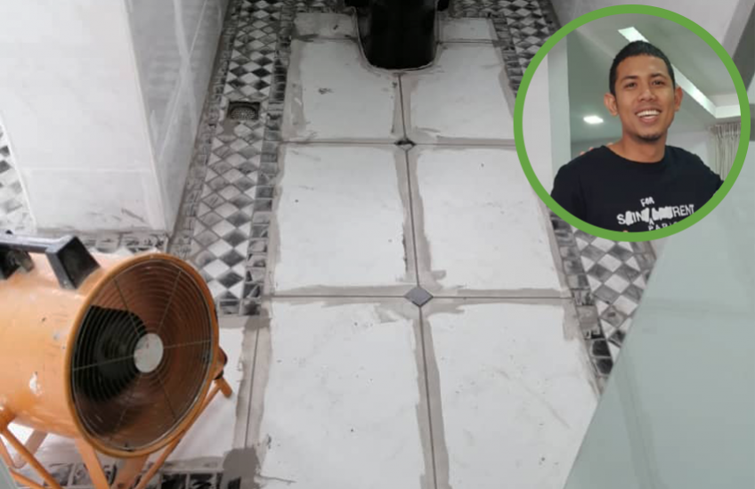 Waterproofing And Anti-Slip Coating Services For Celebrity Nabil Ahmad