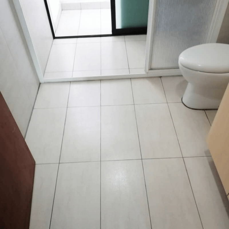 Condition Of Bathroom After Nano-G's Waterproofing and Anti-slip Coating
