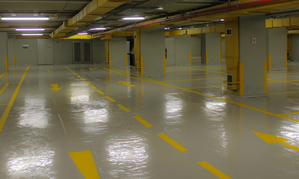 Epoxy coating belongs in the carpark, not your home!
