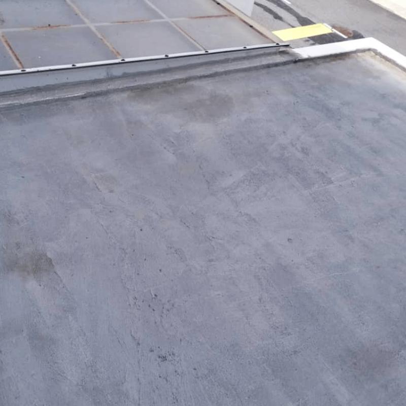 Car porch flat roof